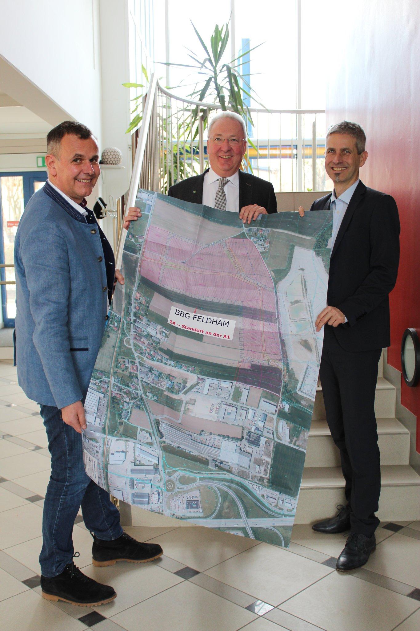 Präsentation Betriebsbaugebiet Feldham Vorchdorf