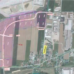 Plan des Baugrundstücks Vorchdorf