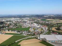Luftaufnahme Gemeinde Vorchdorf