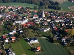 Luftaufnahme Gemeinde Ohlsdorf
