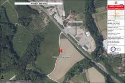 Lageplan Baugrundstück Pinsdorf