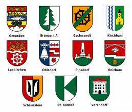 Wappen der Mitgliedsgemeinden